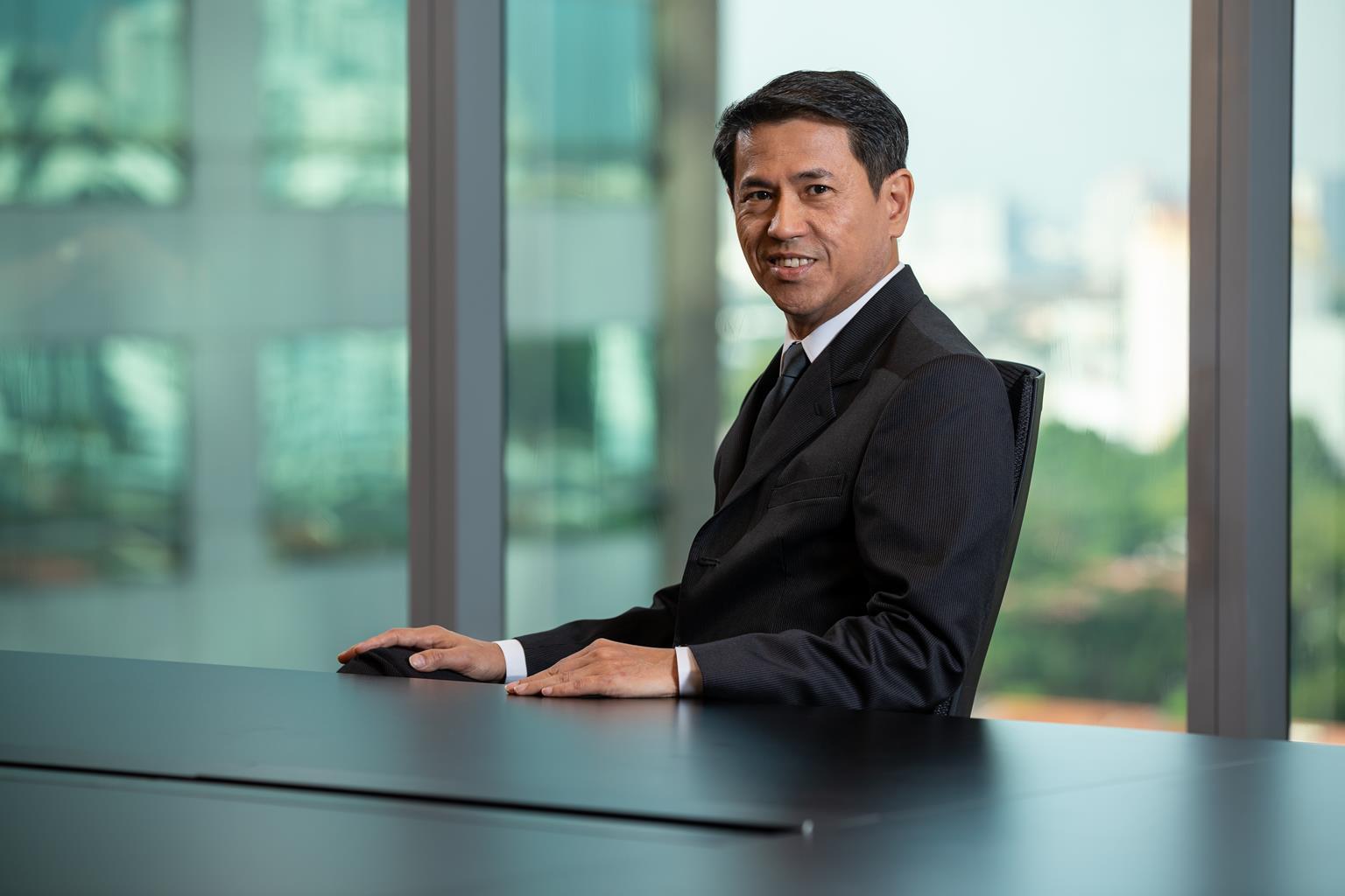Jeffrey Chew Group CEO of Paramount Corporation Berhad