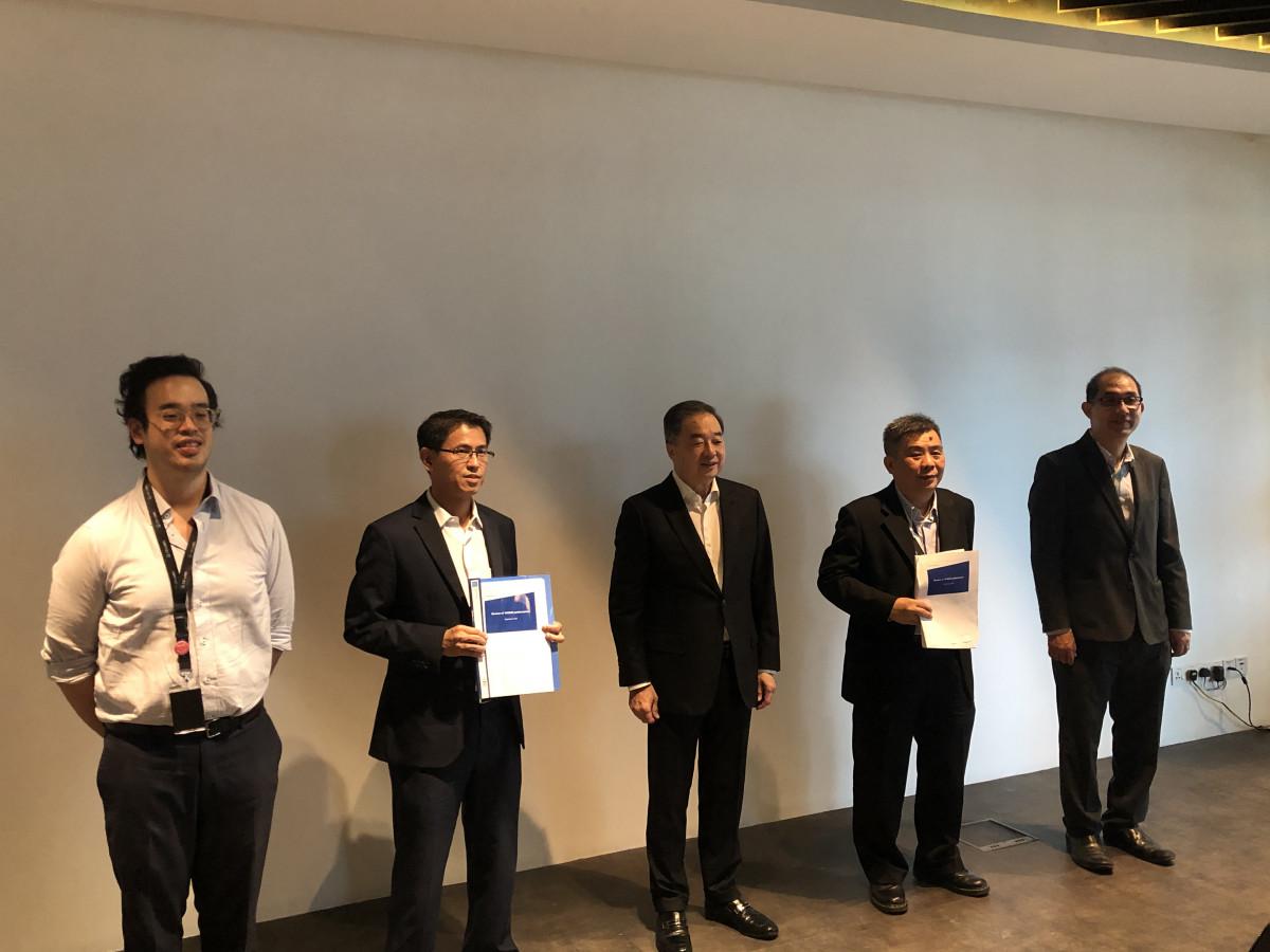 Benjamin Teo, Dato' Teo Chiang Quan, Jeffrey Chew, Foong Poh Seng and Beh Chun Chong EdgeProp