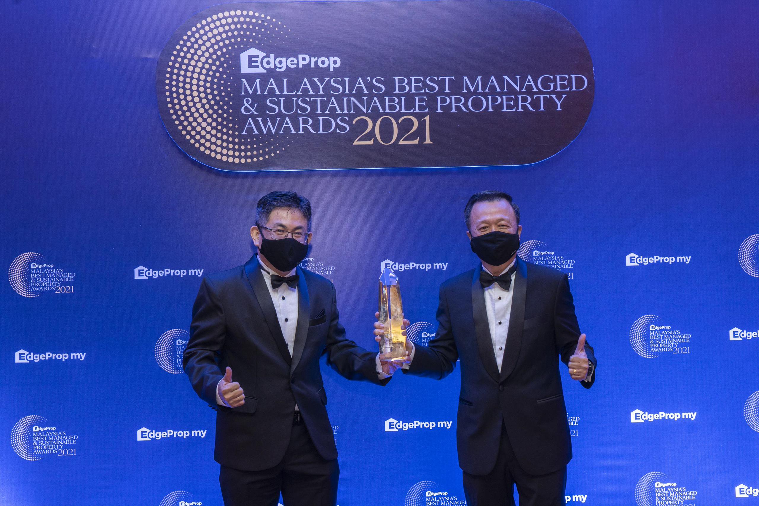 Wang Chong Hwa and Ooi Hun Peng