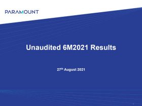 Q2 Financial Year 2021 Results