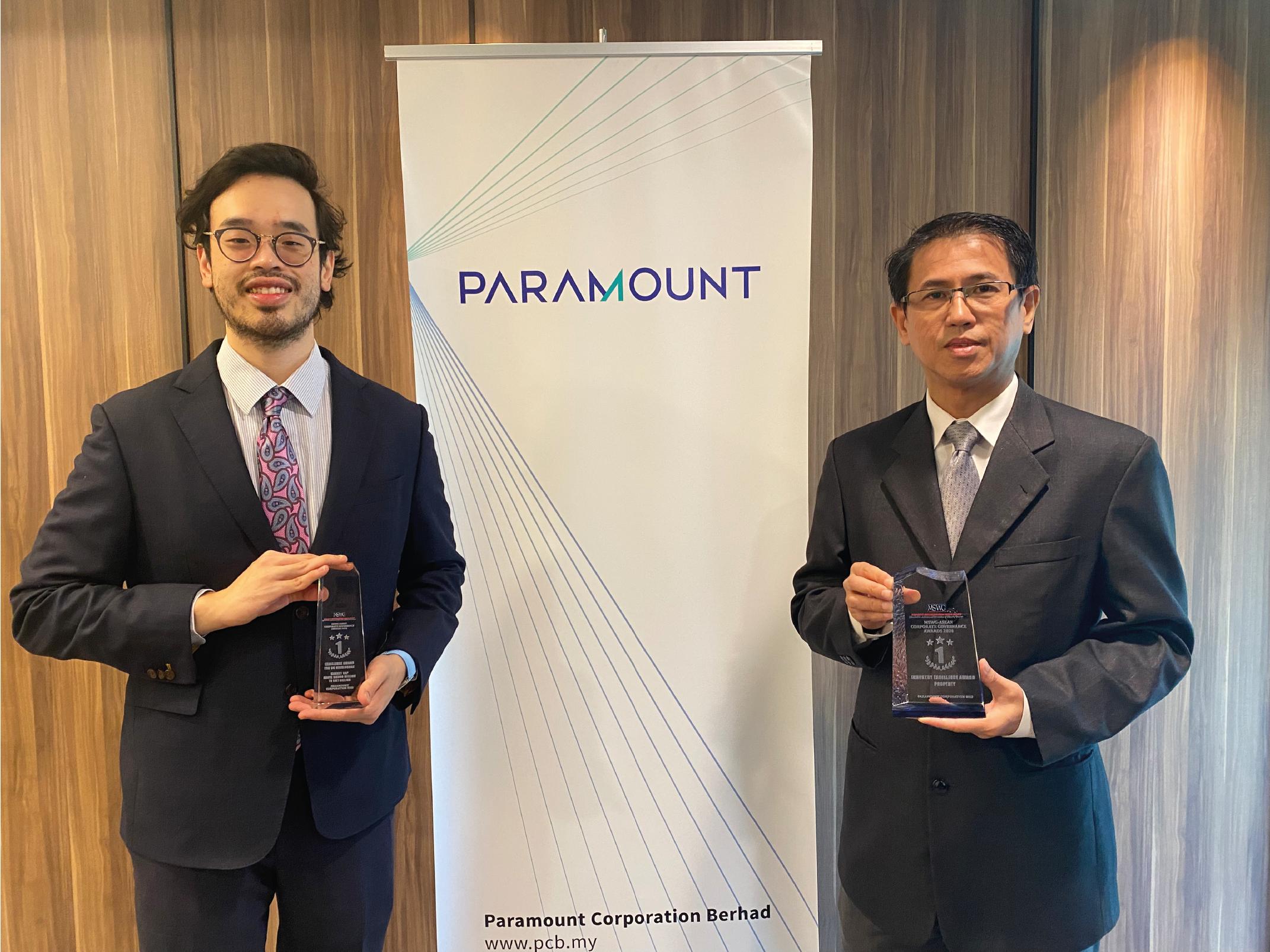 MSWG Awards Jeffrey Chew and Benjamin Teo